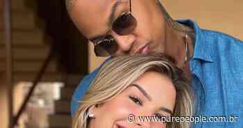 Grávida, Lorena Improta mostra rosto da filha em ultrassom: 'A cara do Léo Santana'. Veja - Purepeople.com.br