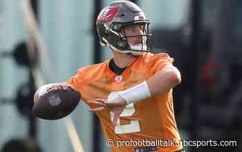 """Buccaneers try to avoid Kyle Trask entering """"redshirt mode"""" as a rookie"""