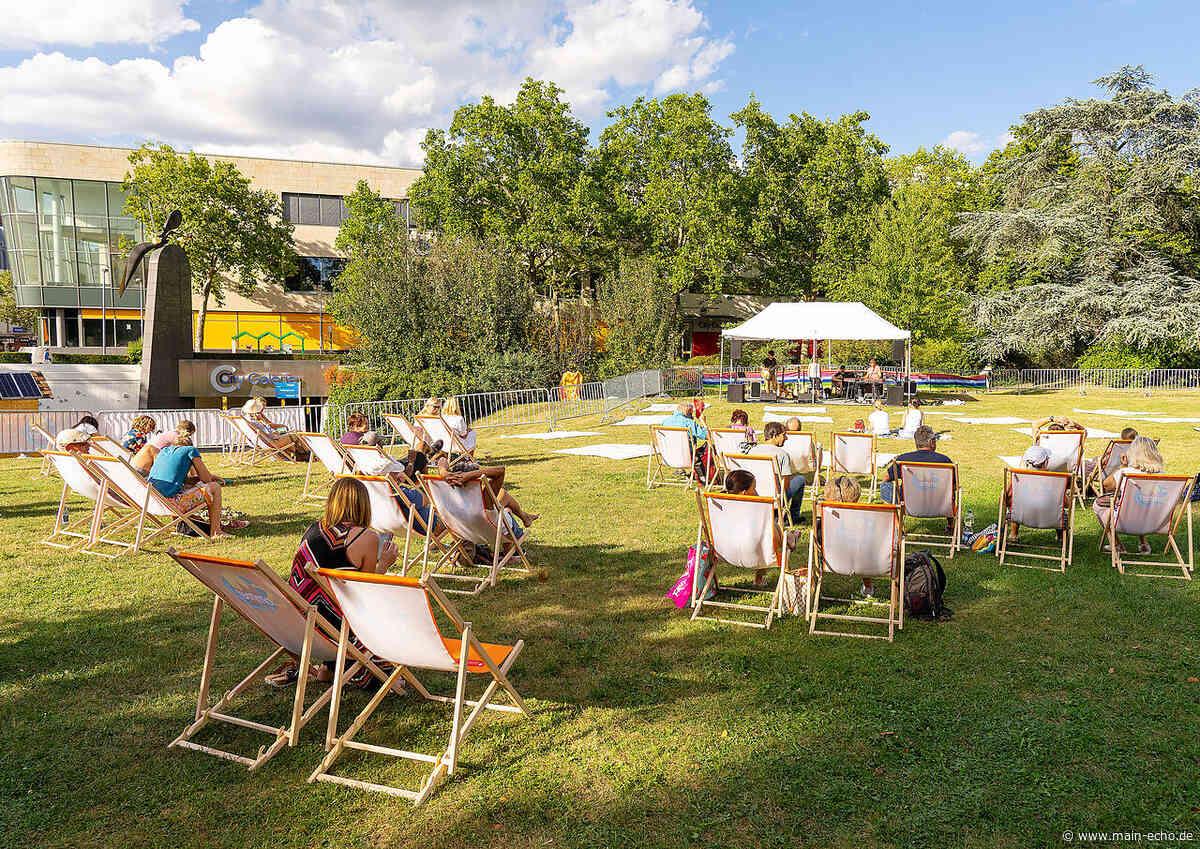 Start der Picknickdecken-Konzertreihe im Schöntal am Samstag | Foto: Harald Schreiber - Main-Echo