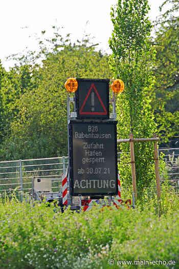 Darmstädter Straße in Aschaffenburg ab Samstag gesperrt - Main-Echo