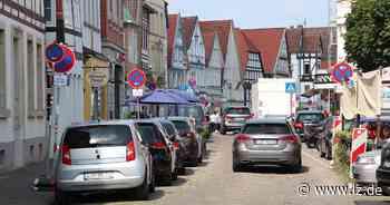 Verkehrsversuch beginnt Montag in Detmold   Lokale Nachrichten aus Detmold - Lippische Landes-Zeitung
