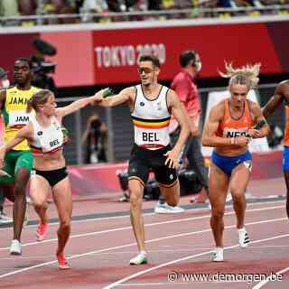 Live - Belgen eindigen op de vijfde plaats in finale gemengde 4x400m