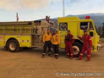 Sunshine Coast firefighters to tour interior - mycoastnow.com