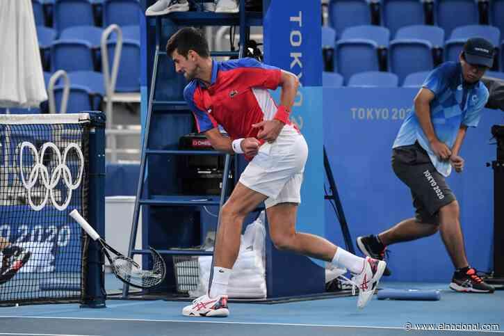 Djokovic, agotado física y mentalmente, deja Tokio 2020 sin medallas