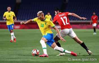 Olympics football: Brazil eliminate Egypt from Tokyo Games