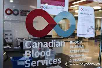 CANADA: Canadian Blood Services watching supply as COVID-19 rules eased