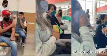 Joven grita en vacunación por miedo a la aguja; otra llevó su peluche por estrés - ABC Noticias MX