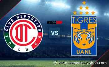 Toluca vs. Tigres UANL por el Grita México A21 de la Liga MX: día, hora y canal de TV - Yahoo Deportes