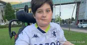 Boy, 13, who went for eye test ends up being taken to hospital with brain tumour
