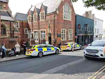 Police presence in Upper North Street