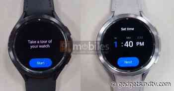 Samsung Galaxy Watch 4 Classic Smartwatch Live Photos Surface Online Ahead of Official Launch
