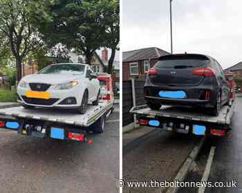 """Two """"stolen cars"""" seized by traffic police in Bolton - The Bolton News"""