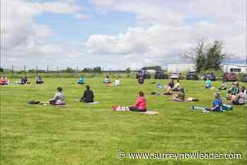 Outdoor yoga at Delta farm supporting animals affected by BC wildfires – Surrey Now-Leader - Surrey Now-Leader