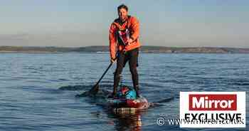 Dad paddling around Britain spurred on by painful memories of seeing three drown