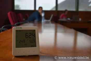 Verenigingen en ontmoetingscentra krijgen CO2-meters om luch... (Zoutleeuw) - Het Nieuwsblad