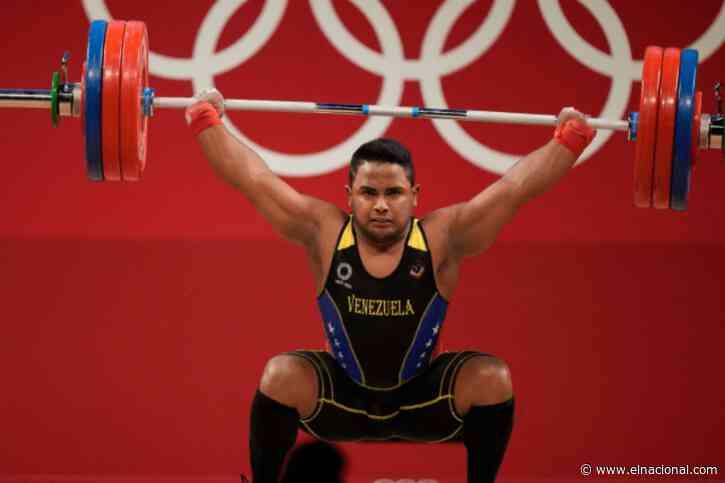 Keydomar Vallenilla luego de ganar medalla de plata en Tokio: Hoy sentí que tenía una fuerza extraordinaria
