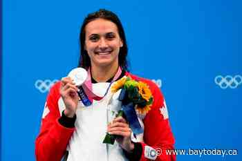 Kylie Masse earns second silver in pool, Andre De Grasse cruises into 100 semifinal