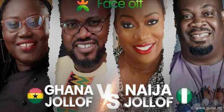 The Nigeria and Ghana'Jollof Faceoff'