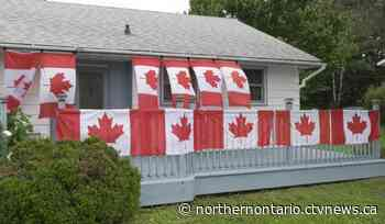 North Bay woman adding Canadian flags to her house each time Canada medals in Tokyo - CTV Toronto
