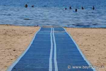 Wheels to the Water beach mat set to grow wings - BayToday.ca