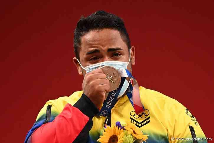 Keydomar Vallenilla corona una brillante trayectoria con una medalla olímpica