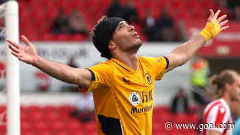 Video: Watch Raul Jimenez score his first goal for Wolves since returning from fractured skull injury