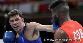 Washington boxer Luke McCormack 'wounded' after crashing out of Tokyo Olympics