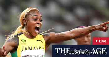 Tokyo Olympics as it happened: Browning wows in 100m heat, record broken as Jamaica go 1-2-3 in women's final