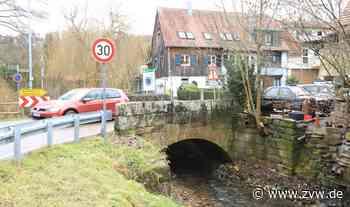 Weinstadt-Baach: Sanierung der historischen Brücke startet am Montag (2. August) - Weinstadt - Zeitungsverlag Waiblingen