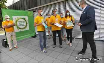 1600 Unterschriften für ein bis 2035 klimaneutrales Weinstadt - Weinstadt - Zeitungsverlag Waiblingen
