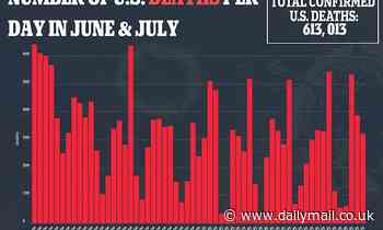 Florida and Delaware skew COVID death figures with massive data dump taking total up by 300% a day