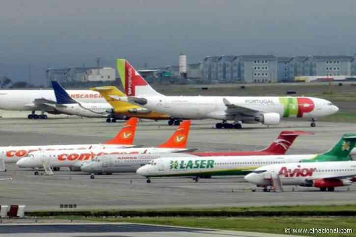 Demanda de combustible de avión cayó 66% en Venezuela en medio de las restricciones por la pandemia