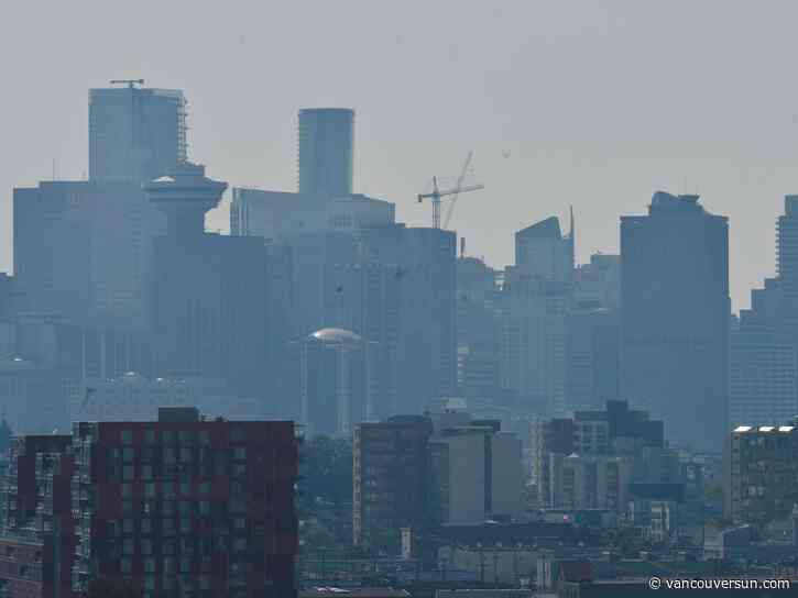 Vancouver Weather: Increasing clouds, hazy