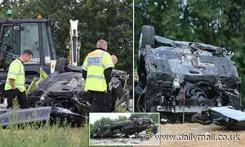 Woman, 29, is killed after BMW smashed into digger in Essex in horror collision