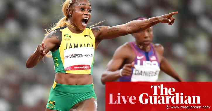 Tokyo 2020 Olympics: Thompson-Herah wins 100m, tennis gold for Bencic and more – live!