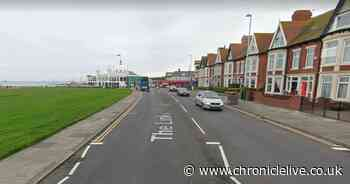 Two people arrested after man hit by Mercedes in Whitley Bay