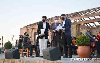 Cidade da Uva: Areal recebe cônsul italiano em vinícola instalada na cidade - O Dia