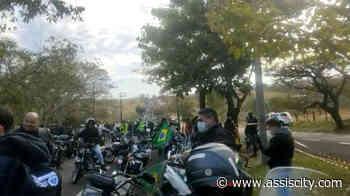 Motociclistas de Assis participam de ato em apoio a Bolsonaro em Presidente Prudente - Assiscity - Notícias de Assis SP e região hoje