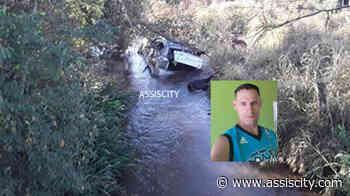 Carro capota entre Assis e Platina, cai em rio e motorista morre - Assiscity