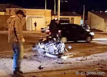 Motociclista fica ferido após acidente em cruzamento em Assis - G1