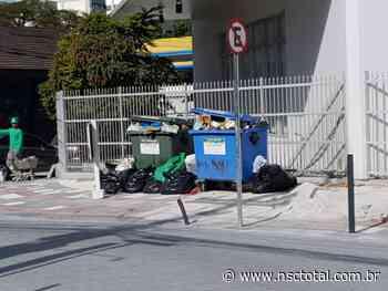 Blumenau precisa de mais contêineres de lixo nas ruas - NSC Total