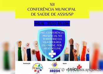 Pré-Conferência de Saúde segue nesta quinta-feira, 29, para o território Vila Operária - Prefeitura de Assis