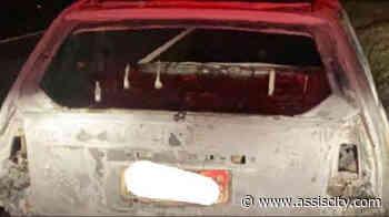 Carro pega fogo entre Assis e Paraguaçu Paulista - Assiscity - Notícias de Assis SP e região hoje