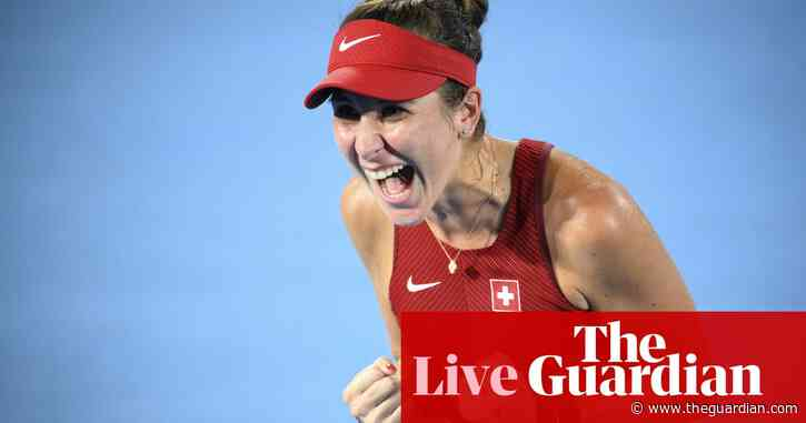 Tokyo 2020 Olympics: tennis gold for Bencic, China top medal table and more – live!