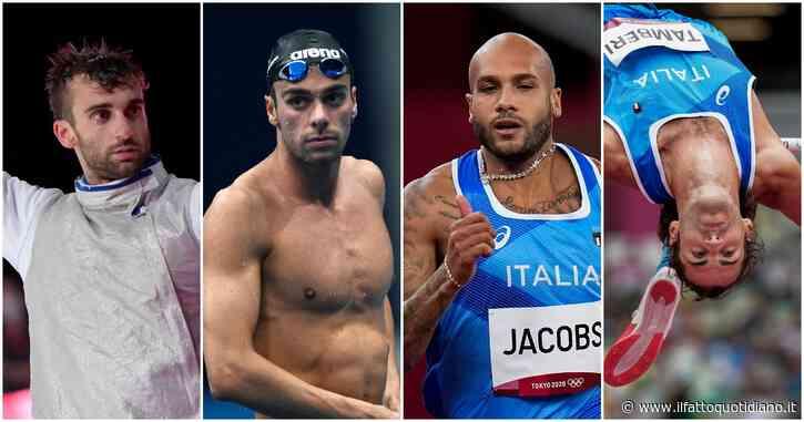 Paltrinieri, Tamberi e il fioretto maschile: tutti gli azzurri a caccia di una medaglia l'1 agosto. E Marcell Jacobs cerca il miracolo nei 100 mt