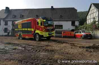 FW Konstanz: Feuerwehren aus dem Landkreis Konstanz waren in Rheinland-Pfalz im Katastrophengebiet im... - Presseportal.de