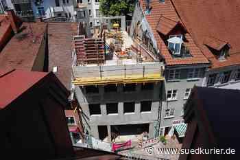 Konstanz: Bauruine mitten in der Konstanzer Altstadt? Seit drei Jahren besteht die Baustelle in der Hussenstraße - SÜDKURIER Online