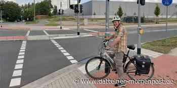 """Radfahren in Datteln: """"Wie im Urlaub"""" – eine Kreuzung macht Probleme - Dattelner Morgenpost"""