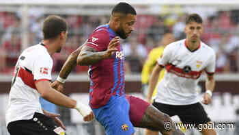 Video: Watch Depay score stunning goal for Barcelona in friendly clash with Stuttgart