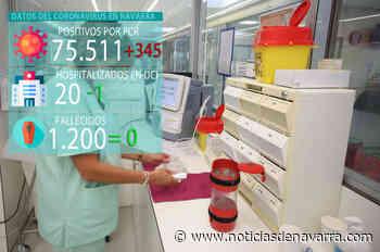 Coronavirus en Navarra, última hora: 13 ingresos, 1 en UCI, en una jornada sin fallecidos - Noticias de Navarra